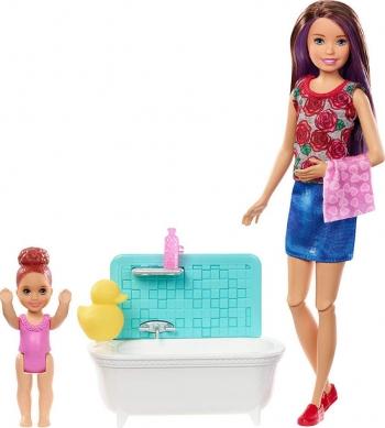 Barbie Babysitters Ώρα Για Μπάνιο