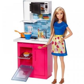 Barbie Δωμάτιο Με Κούκλα - 7 Σχέδια Mattel (DVX51)