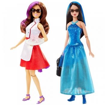 Barbie Φίλες Μυστικοί Πράκτορες - 2 Σχέδια (DHF06)