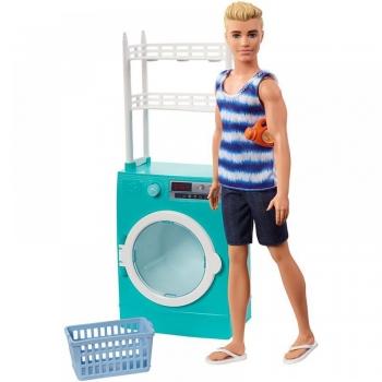 Barbie Ken Με Πλυντήριο (FYK52)