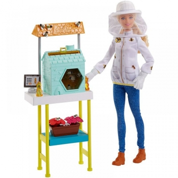Barbie Μελισσοκόμος Σετ Παιχνιδιού (DHB63-FRM17)