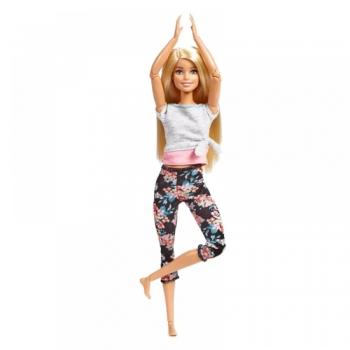 Barbie Νέες αμέτρητες κινήσεις - 4 Σχέδια (FTG80)