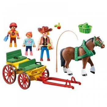 Playmobil Country Άμαξα Με Οδηγό & Παιδάκια (6932)