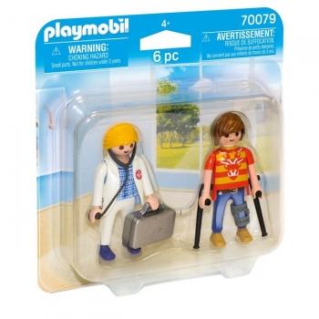 Playmobil Duo Pack Γιατρός Και Ασθενής
